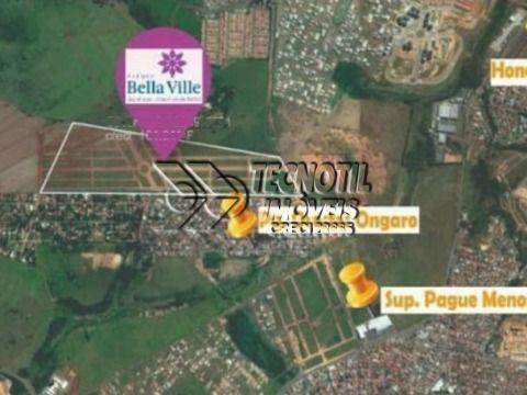 Oportunidade de Adquirir um Belo Terreno Bairro Planejado Bella Ville - Hortolândia SP