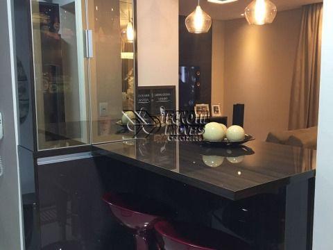 Lindo Apartamento no Condomínio Gemini - Pq. Prado Campinas SP - Estuda troca