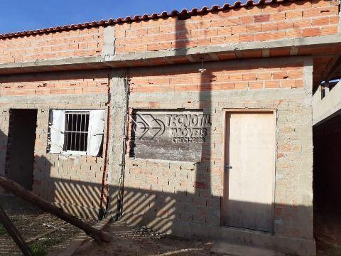 2 Casas Térreas Idênticas em Fase de Acabamento - Monte Mor SP