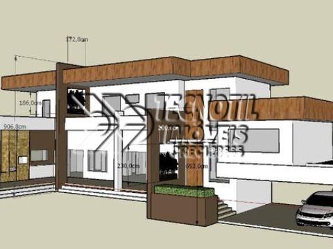 Linda Casa em Construção no Condominio Condomínio Vale da Santa Fé - Vinhedo SP