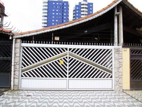Casa geminada no Bairro Vila Caiçara em Praia Grande
