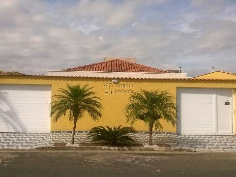 Linda Casa  isolada no bairro  Florida em Praia Grande SP