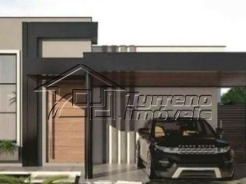 Bela e moderna casa térrea com 3 suítes