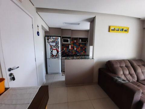 Lindo apartamento com 2 dormitórios, sendo 1 suíte