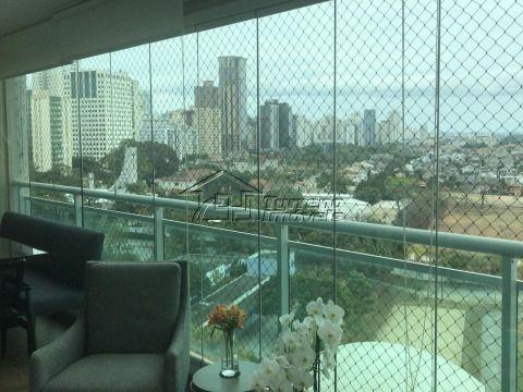 Lindo apartamento no Jardim das Colinas, 3 suítes, andar alto e vista permanente