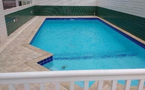 Apartamento Residencial à venda, Guilhermina, Praia Grande - AP0849.