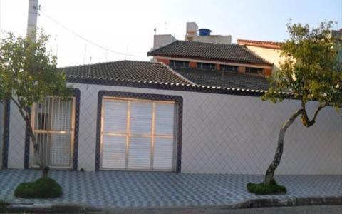 Casa Residencial à venda, Vila Guilhermina, Praia Grande - CA0656.
