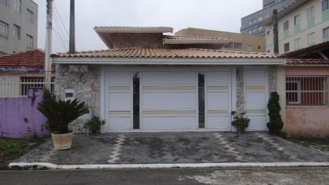 Casa residencial à venda, Vila Caiçara, Praia Grande.