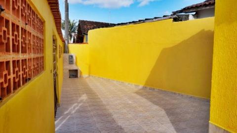 Casa com 1 dormitório à venda, 52 m² por R$ 160.000 - Caiçara - Praia Grande/SP