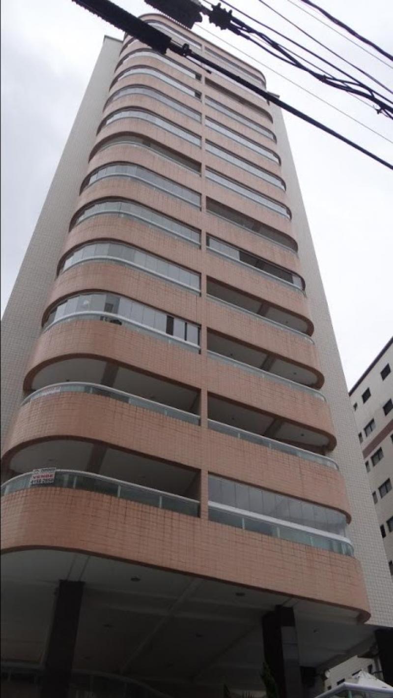 Apartamento com 2 dormitórios à venda, 80 m² por R$ 280.000 - Campo da Aviação - Praia Grande/SP