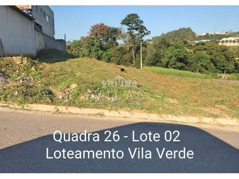 Lotes com 300 m² no Bairro Vila Verde em Varginha/MG