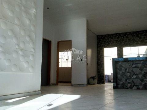 Casa em construção no Alto da Figueira II em Varginha/MG