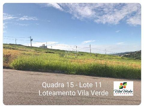 Lotes com 360m² no Vila Verde em varginha/MG