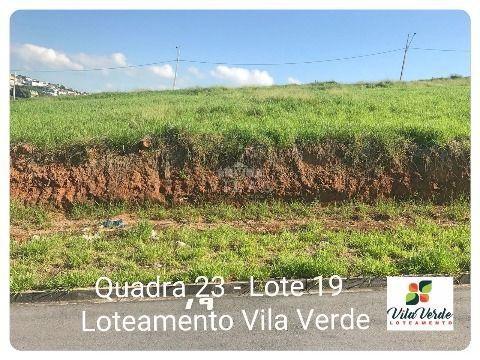 Lote 325m² no Vila Verde