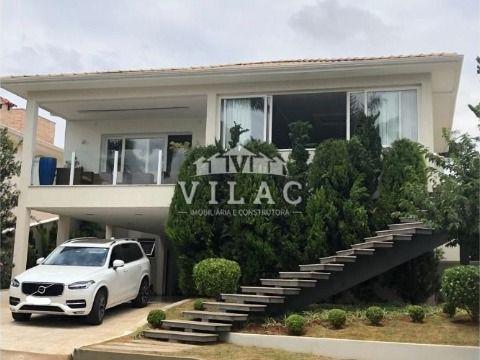 Imóvel de alto padrão no Condomínio Residencial Quinta das Palmeiras em Varginha/MG (bairro Rezende)